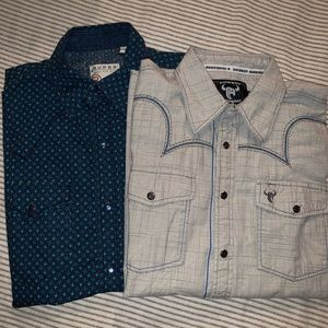 Two Western Shirts